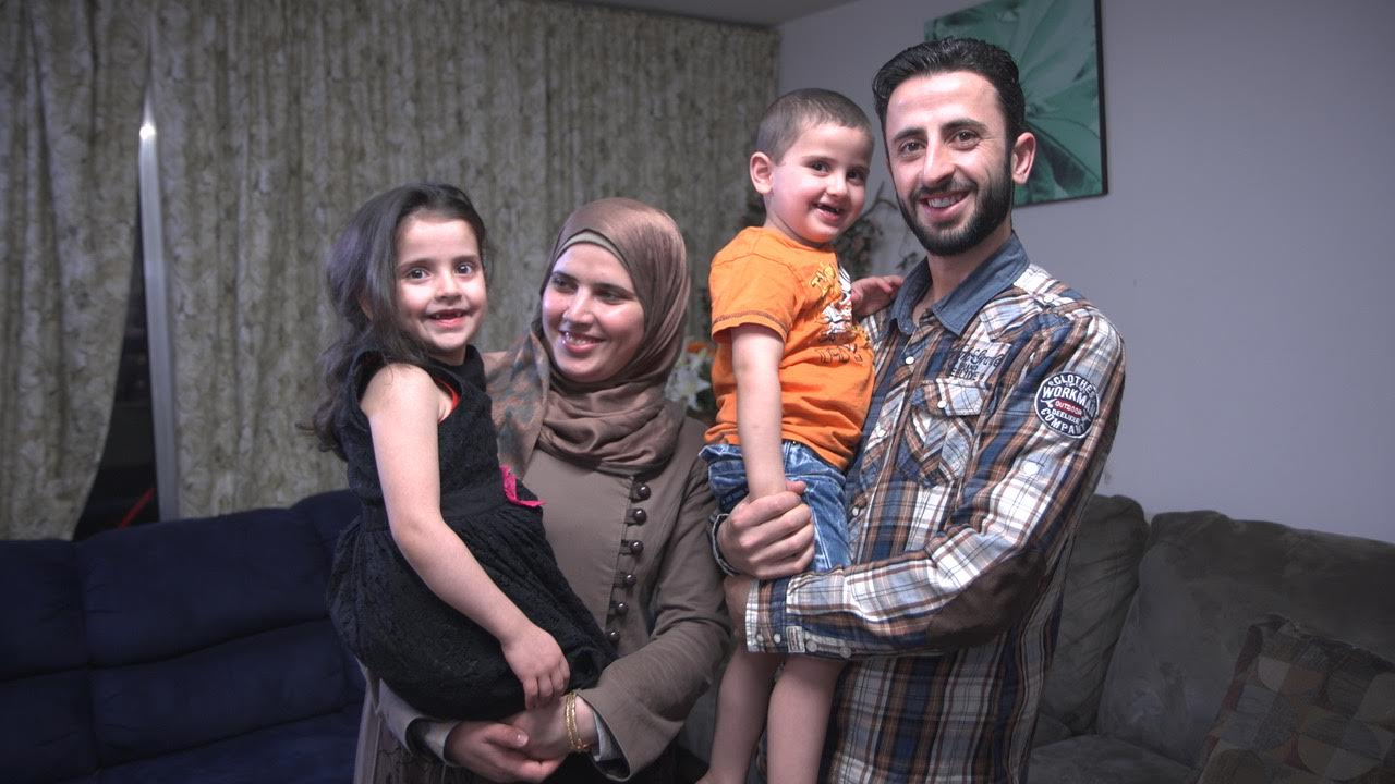 Syrian Refugee Family