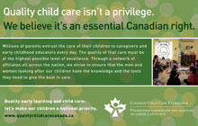 Canadian Child Care Federation - Poster Series